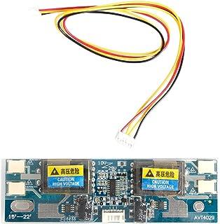 KAMONDA - Tablero inversor Universal de 4 lámparas, Monitor de Panel de Pantalla LCD, 10-30 V para computadora portátil, P...