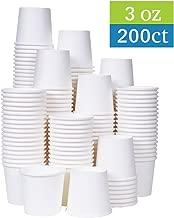 [TashiBox] 3 oz white paper bath cups, 200 count (200)