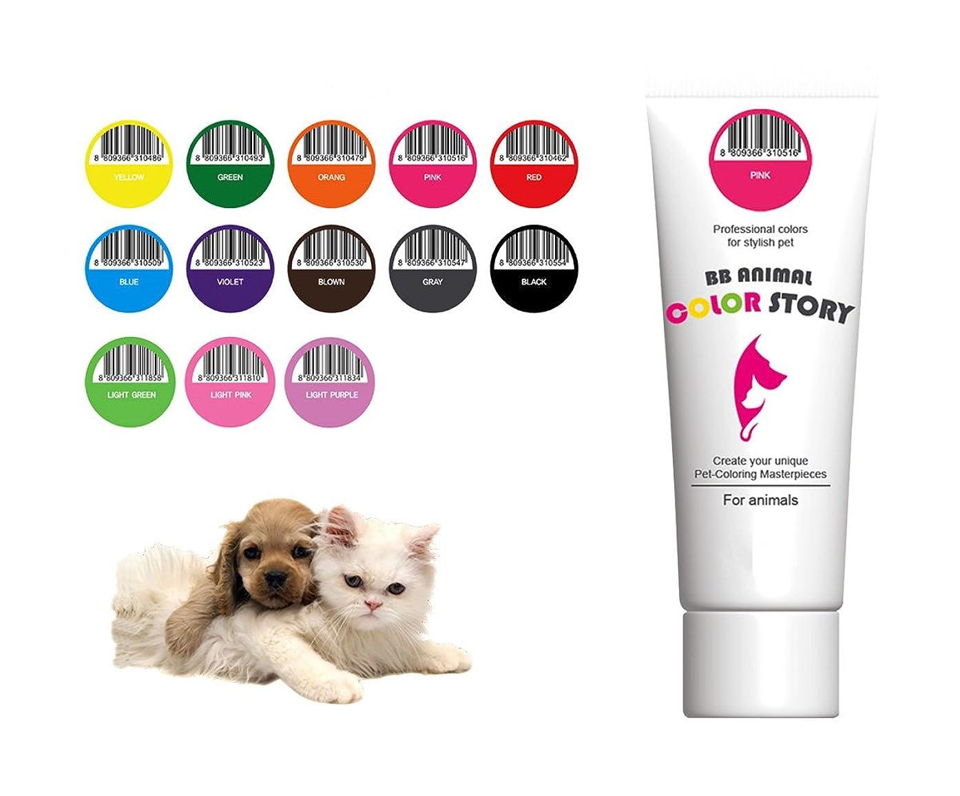 満員色合いコンサルタント13 PCS Set 毛染め, 犬ヘアダイ, カラーリング Dog Hair Hair Bleach Dye Hair Coloring Professional Colors for Stylish Pet 50ml 並行輸入