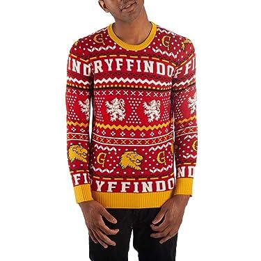 Bioworld Gryffindor Sweater Harry Potter Sweater Hogwarts Sweater Gryffindor Apparel