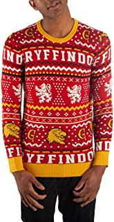 Gryffindor Sweater Harry Potter Sweater Hogwarts Sweater Gryffindor Apparel