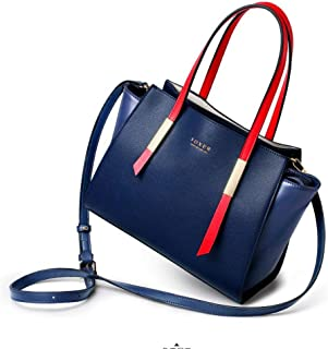 Women 's Leather Shoulder Tote Bags