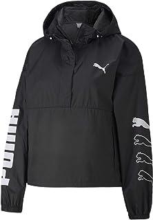 PUMA Women's 1/2 Zip Jacket, Black