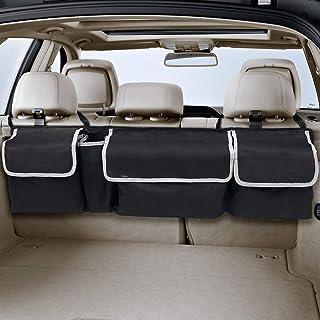 MiOYOOW Sac de rangement pour coffre de voiture avec poches en maille pour dossier de si/ège et rangement arri/ère de voiture
