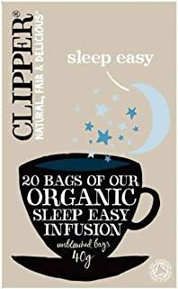 Clipper Organic Sleep Easy Infusion 20 per pack - Pack of 6