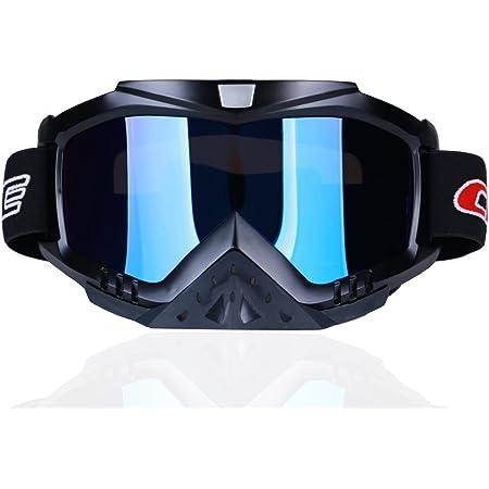 Slip Strap Zorax Black Adult Motorbike Motorcycle Motocross MX Goggles Off Road Adjustable Non
