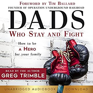 Dads Who Stay and Fight audiobook cover art