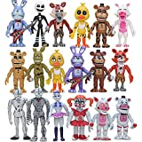 18 Pcs Five Nights at Freddy's Action Figures, FNAF Figure Golden Freddy Toys Dolls Figures for Kids Birthday Christmas