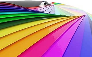 Premium Möbelfolie Hochglanz - Beige - 1 Meter x 63 cm Rollenware am Stück und Bastelfolie 32 Farben - verschiedene Größen - Küchenfolie - Klebefolie für Möbel, Türen selbstklebende Folie Küche, Meterware