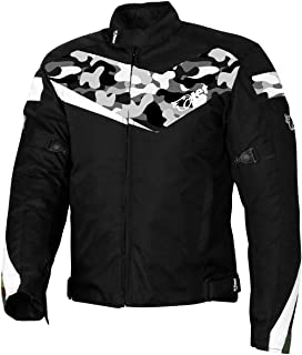 JET Motorcycle Motorbike Jacket Scooter Moped Commuter Urban Rider Protective Jacket Textile Armoured ECONOTECH