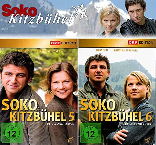 SOKO Kitzbühel - Box 5+6 (4 DVDs)