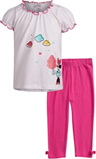 Disney Baby Girl Minnie Mouse and Princess - Juego de Camisetas y Mallas para bebé