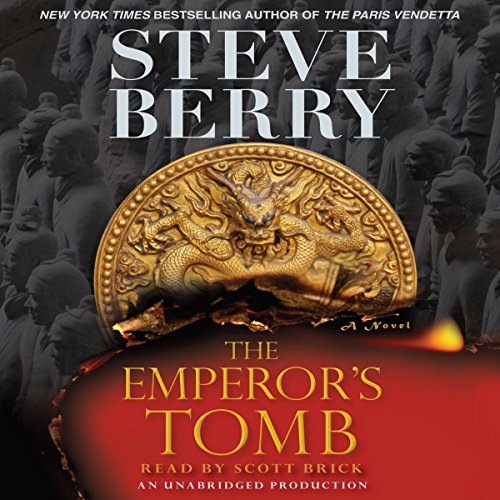The Emperor's Tomb audiobook cover art