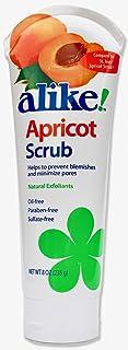 alike Apricot Facial Scrub, 8 Fluid Ounce (Pack of 2)