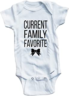 Baby Tee Time Girls' Current Family Favorite One piece