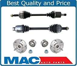 Front Axles & Wheel Hubs Fits For Acura TL & TYPE S 3.2L 07-08 Automatic Transmission