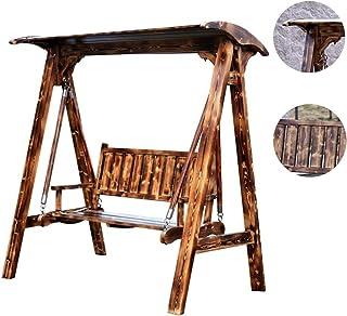 Amazon.es: Madera - Columpios de porche / Muebles y accesorios de ...