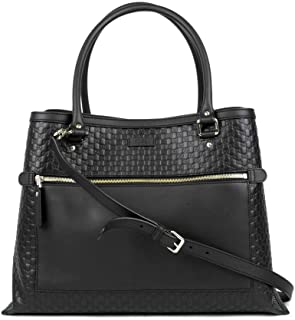 81b86f4fa Gucci Women's Black Guccissima Leather Large Shoulder Bag 510290 1000