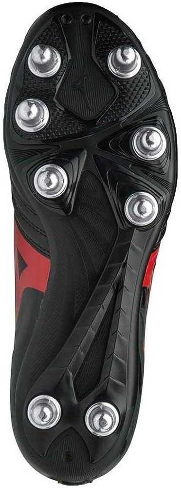 Mizuno Waitangi Cl, Scarpe da Ginnastica Basse Uomo Multicolore Black Red 001
