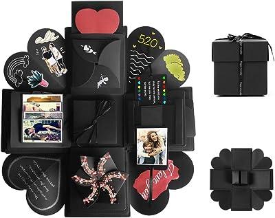 Tumao Caja de Regalo Creative Explosion Love Memory DIY Álbum de ...