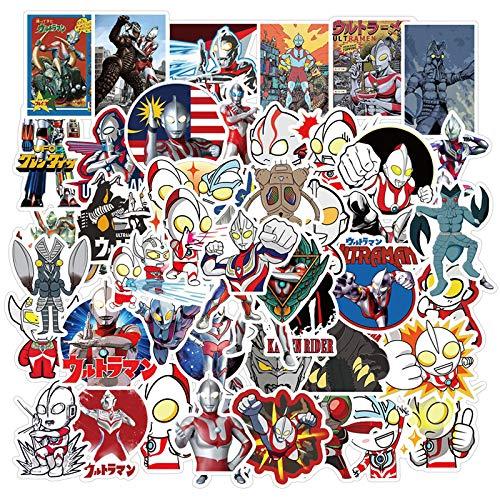 WYDML Degas Altman Pegatina Dibujos Animados japoneses Huevo Salado Superman papelería para niños Diario Taza de Agua Pegatina para Maleta Impermeable