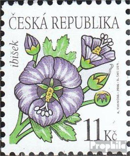 république tchèque mer.-no.: 458 (complète.Edition.) 2006 Fleurs (Timbres pour Les collectionneurs) Plantes / Champignons