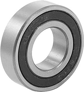 uxcell ボールベアリング 深溝玉軸受 6003RSタイプ 17 x 35 x 10mm 1個 シルバー ブラック