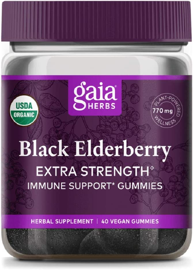 Reservation Gaia Black Elderberry Extra Strength Pack Twin Gummies Ranking TOP5