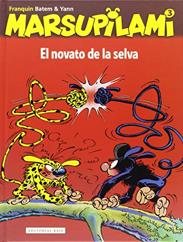 El novato de la selva: 3 (Marsupilami)