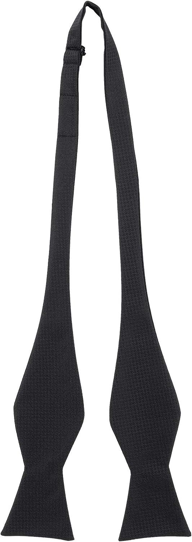 Jacob Alexander Men's Tone on Bow OFFer Houndstooth Tie Elegant Self-Tie