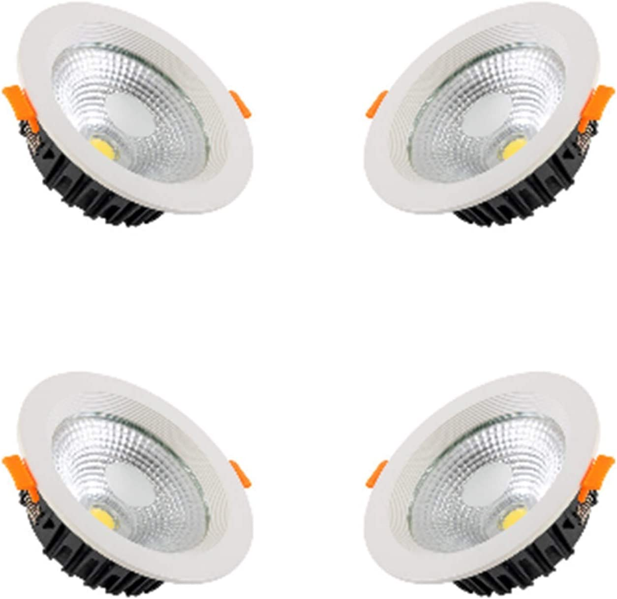 BDSHL 4 We OFFer at cheap prices Pack LED Recessed Downlight Die-Castin to Finally popular brand 8 2.5inch Inch