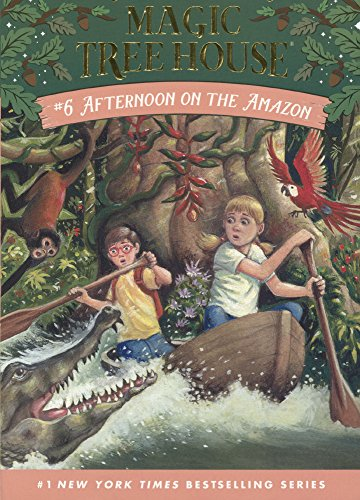 MTH #06 AFTERNOON ON THE AMAZO (Magic Tree House, Band 6)