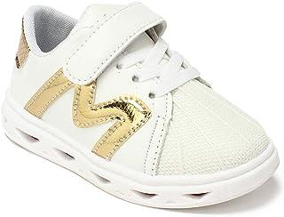 Walktrendy Unisex Sneakers- 8.5 UK (26 EU) (9.5 Kids US) (wty941_Gold