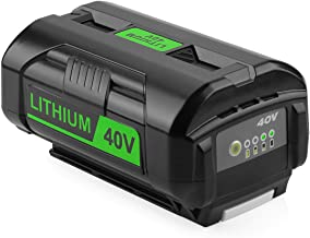 Powilling OP4050A 40V 6000mAh Lithium Battery for Ryobi 40-Volt Collection Cordless Power Tools Li-ion Battery OP4015 OP4026 OP40201 OP40261 OP4030 OP40301 OP4040 OP40401 OP4050 OP40501 OP40601