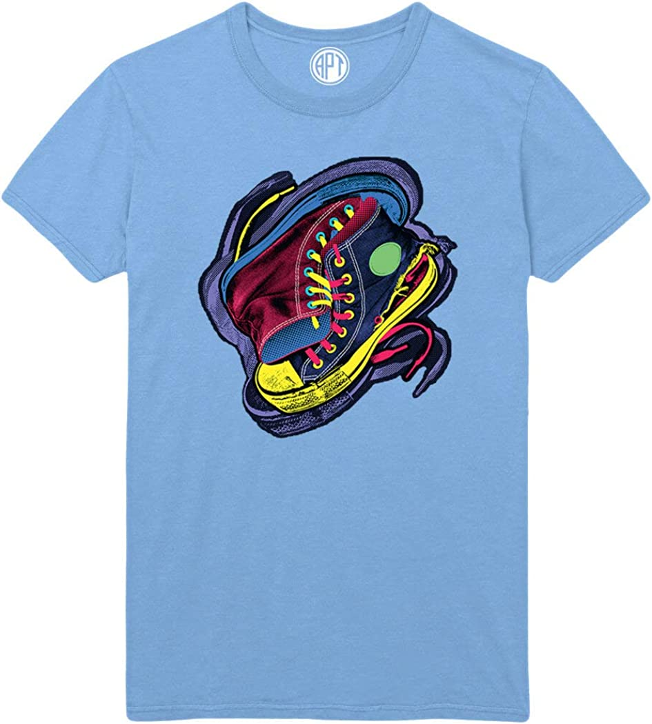 Cool Colorful Sneakers Printed T-Shirt
