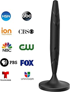 Digital TV Antenna for Indoor – HDTV Antenna with Amplifier Signal Booster for 4K..