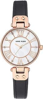 Anne Klein Analog White Dial Watch for Women - AK2718RGBK