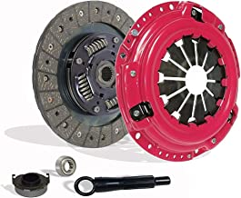 Clutch Kit works with Honda Civic Delsol Acura El Base Dx Ex Lx Hx Reverb 1992-2005 1.5L 1.6L 1.7L L4 Gas Sohc Naturally Aspirated (Stage 1; D15B7, D15B8, D15Z1, D16Y7, D16Y8, D16Z6)
