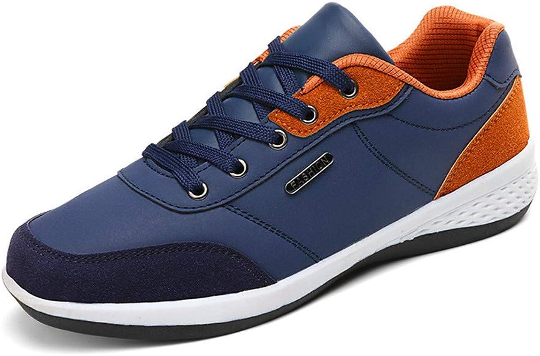 DSX Trainer Casual Herrenschuhe Pu Blau Vier Jahreszeiten Knnen Board Schuhe Tragen, braun, 42EU