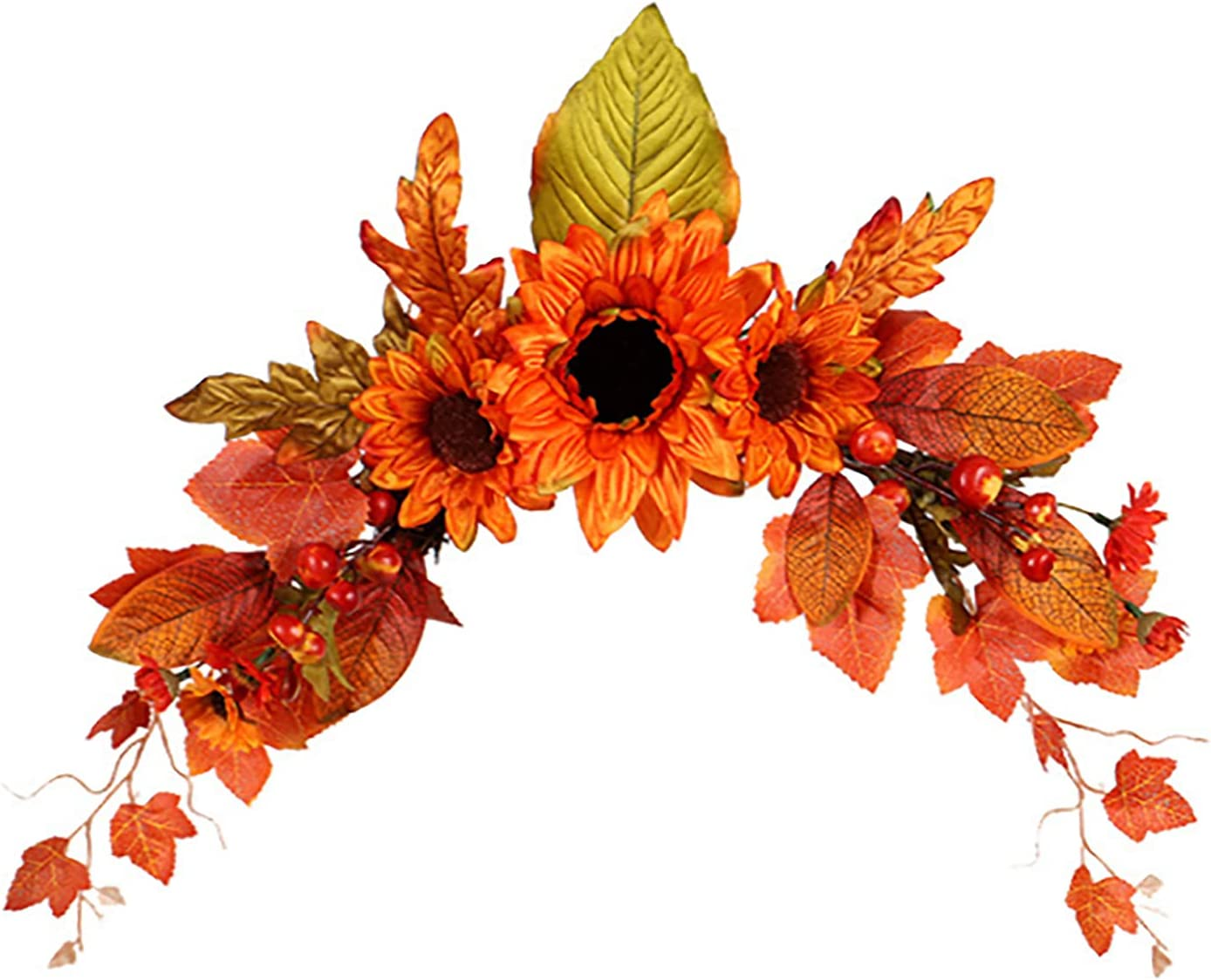 HJHIWE 5% OFF Fall Swag Autumn Flower Some reservation Garland Artificial S Vines