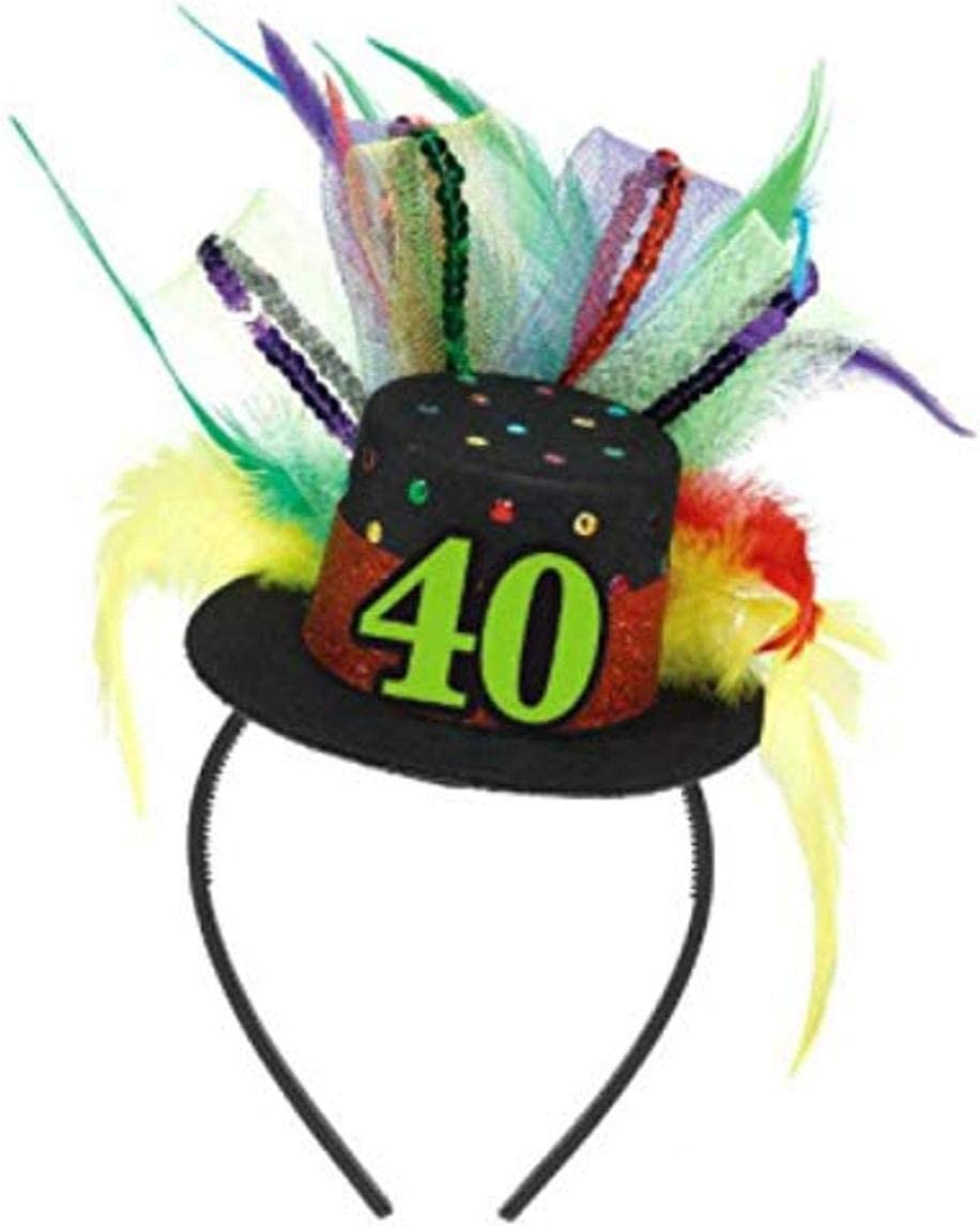 40th Birthday Fascinator