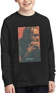 Stoney Post Malone Youth Long Sleeve 100% Cotton T-Shirts