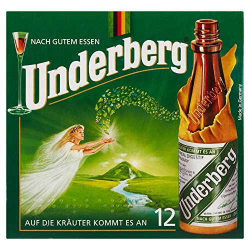 Underberg Kräuter, 12 x 20ml