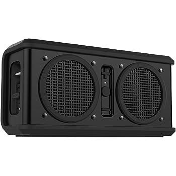Skullcandy Air Raid Water-resistant Drop Proof Bluetooth Portable Speaker, Black
