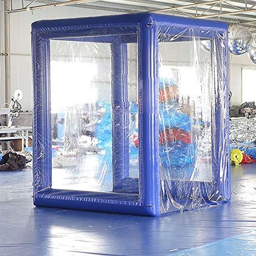 KUYT Aufblasbar Desinfektion Tunnel Temporär Sterilisation Oxford Stoff Zelt Einfache Installation mit elektrischer Luftpumpe für Klinik/Einkaufszentrum/Hotel/Supermarkt