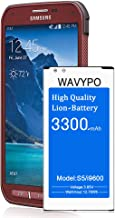Galaxy S5 Active Battery, (Upgraded) 3300mAh Wavypo Replacement Battery Li-ion for..
