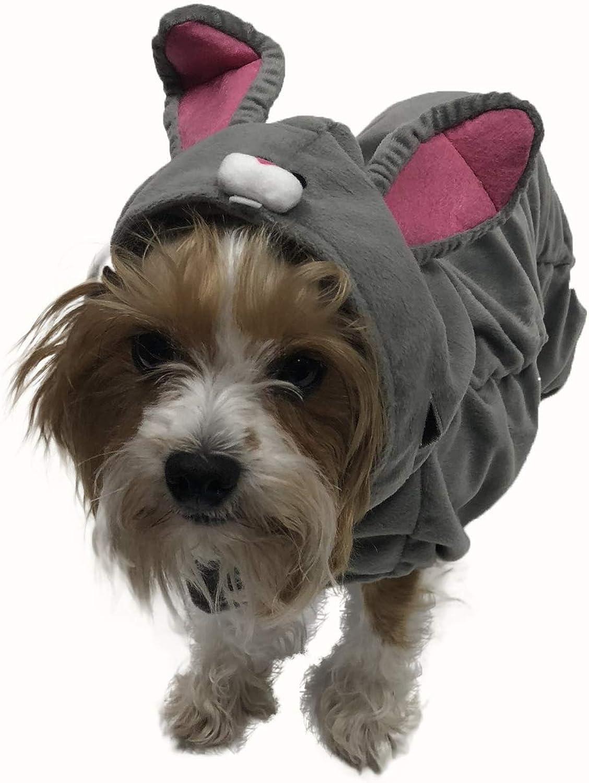 Bunny Rabbit Costume for Small Dogs (Medium)