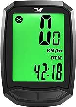 Y&S YS Odómetro inalámbrico para bicicleta a prueba de agua, velocidad de activación automática, velocímetro de bicicleta con pantalla LCD HD con retroiluminación, función múltiple para bicicleta de montaña (tipo B)