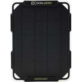 Goal Zero Nomad 5 Solar Panel | 5 Watt Monocrystalline Solar Panel, Perfect for USB Phone Solar Charging