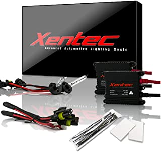 Xentec H1 6000K HID Xenon Bulb bundle with 55W EPE Alloy Slim Ballast (Ultra White)